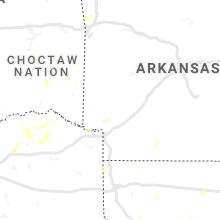 Regional Hail Map for Nashville, AR - Tuesday, July 27, 2021