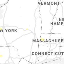 Regional Hail Map for Schenectady, NY - Tuesday, July 27, 2021