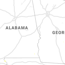 Regional Hail Map for Auburn, AL - Wednesday, July 28, 2021