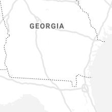 Regional Hail Map for Douglas, GA - Wednesday, July 28, 2021