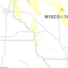 Regional Hail Map for La Crosse, WI - Wednesday, July 28, 2021