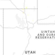 Regional Hail Map for Salt Lake City, UT - Wednesday, July 28, 2021