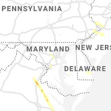 Regional Hail Map for Baltimore, MD - Thursday, July 29, 2021