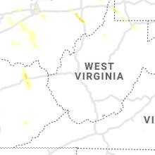 Regional Hail Map for Charleston, WV - Thursday, July 29, 2021