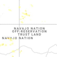 Regional Hail Map for Farmington, NM - Thursday, July 29, 2021