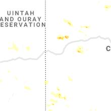Regional Hail Map for Grand Junction, CO - Thursday, July 29, 2021