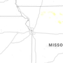 Regional Hail Map for Kansas City, MO - Thursday, July 29, 2021