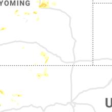 Regional Hail Map for Laramie, WY - Thursday, July 29, 2021