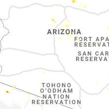 Regional Hail Map for Phoenix, AZ - Thursday, July 29, 2021