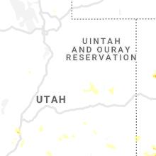 Regional Hail Map for Price, UT - Thursday, July 29, 2021