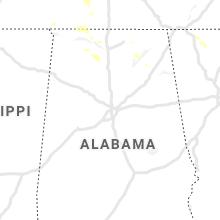 Regional Hail Map for Birmingham, AL - Friday, July 30, 2021