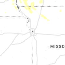 Regional Hail Map for Kansas City, MO - Friday, July 30, 2021