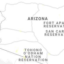 Regional Hail Map for Phoenix, AZ - Friday, July 30, 2021