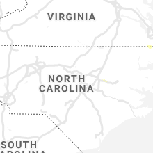 Regional Hail Map for Raleigh, NC - Friday, July 30, 2021