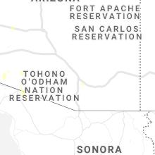 Regional Hail Map for Tucson, AZ - Friday, July 30, 2021