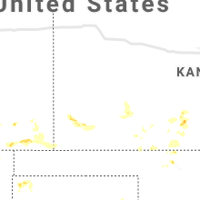 Regional Hail Map for Garden City, KS - Saturday, July 31, 2021