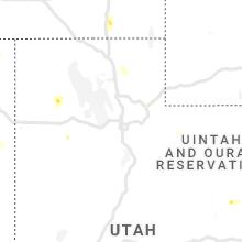 Regional Hail Map for Salt Lake City, UT - Saturday, July 31, 2021
