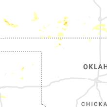 Regional Hail Map for Woodward, OK - Saturday, July 31, 2021