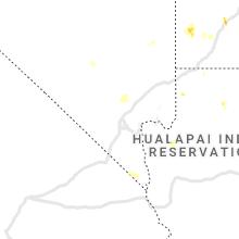 Regional Hail Map for Las Vegas, NV - Sunday, August 1, 2021
