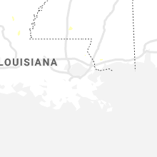 Regional Hail Map for New Orleans, LA - Sunday, August 1, 2021