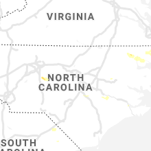 Regional Hail Map for Raleigh, NC - Sunday, August 1, 2021