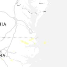 Regional Hail Map for Virginia Beach, VA - Sunday, August 1, 2021