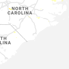 Regional Hail Map for Wilmington, NC - Sunday, August 1, 2021