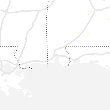 Regional Hail Map for Mobile, AL - Monday, August 2, 2021