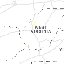 Regional Hail Map for Charleston, WV - Tuesday, August 3, 2021