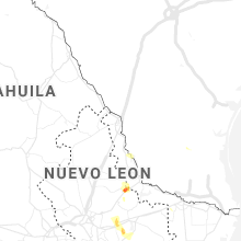 Regional Hail Map for Laredo, TX - Tuesday, August 3, 2021