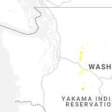 Regional Hail Map for Seattle, WA - Tuesday, August 3, 2021