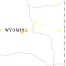 Regional Hail Map for Casper, WY - Friday, August 6, 2021