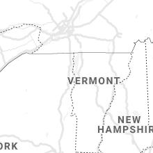 Regional Hail Map for Burlington, VT - Saturday, August 7, 2021