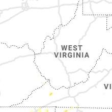 Regional Hail Map for Charleston, WV - Saturday, August 7, 2021