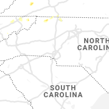 Regional Hail Map for Charlotte, NC - Saturday, August 7, 2021
