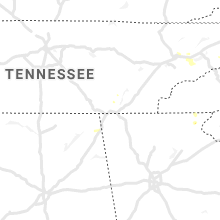 Regional Hail Map for Chattanooga, TN - Saturday, August 7, 2021