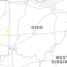 Regional Hail Map for Columbus, OH - Saturday, August 7, 2021