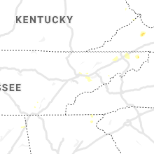 Regional Hail Map for Knoxville, TN - Saturday, August 7, 2021
