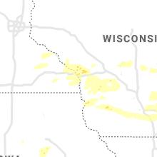 Regional Hail Map for La Crosse, WI - Saturday, August 7, 2021