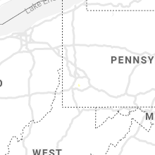 Regional Hail Map for Pittsburgh, PA - Sunday, August 8, 2021