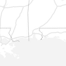Regional Hail Map for Mobile, AL - Monday, August 9, 2021