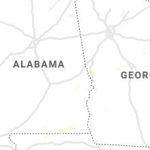 Regional Hail Map for Auburn, AL - Tuesday, August 10, 2021