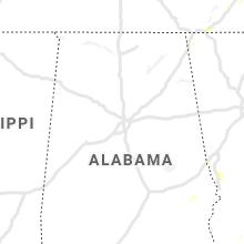 Regional Hail Map for Birmingham, AL - Tuesday, August 10, 2021
