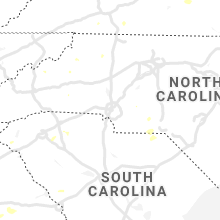 Regional Hail Map for Charlotte, NC - Tuesday, August 10, 2021