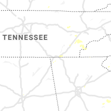 Regional Hail Map for Chattanooga, TN - Tuesday, August 10, 2021