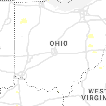 Regional Hail Map for Columbus, OH - Tuesday, August 10, 2021