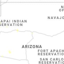 Regional Hail Map for Flagstaff, AZ - Tuesday, August 10, 2021