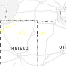 Regional Hail Map for Fort Wayne, IN - Tuesday, August 10, 2021