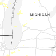 Regional Hail Map for Grand Rapids, MI - Tuesday, August 10, 2021