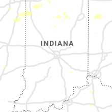Regional Hail Map for Indianapolis, IN - Tuesday, August 10, 2021